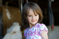 Girl portrait Royalty Free Stock Photography