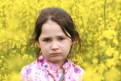 Girl portrait Stock Photography
