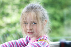 A girl Royalty Free Stock Photography