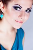 Girl portrait in studio Royalty Free Stock Photos