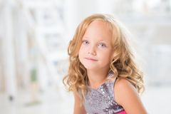 Girl Portrait Young Stock Images