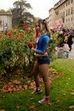 Harley Quinn at Lucca Comics and Games 2017 Royalty Free Stock Photos