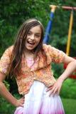 Girl posing Stock Image