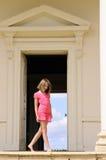 Girl posing stock photography