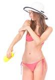 Girl posing in bikini Stock Image