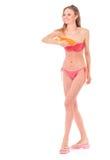 Girl posing in bikini Royalty Free Stock Photography