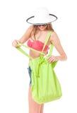 Girl posing in bikini Royalty Free Stock Photos