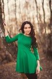 Girl posing in park Stock Image