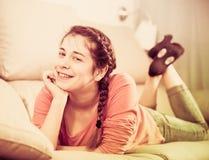 Girl posing playfully Royalty Free Stock Photo