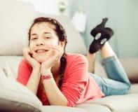 Girl posing playfully Stock Photography