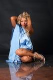 Girl posing in studio Stock Photos