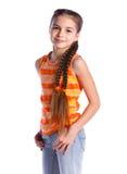 Girl posing in studio Royalty Free Stock Photos