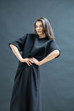Girl posing in studio Stock Images