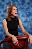 Girl posing in the studio Stock Photos