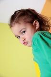 Girl pouting Stock Image