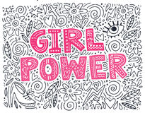 Free Girl Power Illustration Stock Photos - 99253103