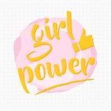 Girl power Stock Images
