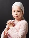 Girl Praying royalty free stock image