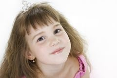 Girl Princess. Stock Images