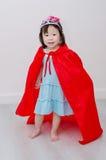 Girl in princess costume Stock Photos