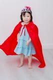 Girl in princess costume Stock Image