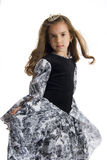 Girl in princess dress Stock Image