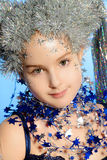Girl princess Stock Images