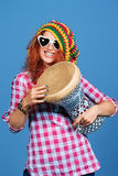 Girl rasta Royalty Free Stock Photos