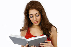 Girl reading Stock Photos