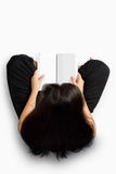 Girl reading books Royalty Free Stock Images