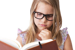 Girl reading Royalty Free Stock Images