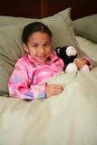Girl Ready For Bed Stock Photos