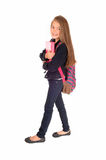 Girl Ready For School. Stock Photography
