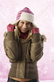 Girl ready for winter Royalty Free Stock Photos