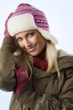 Girl ready for winter Stock Photos