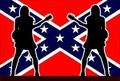 Girl Rebel Guitarists Stock Photo