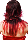 The girl with red hair Royalty Free Stock Photos