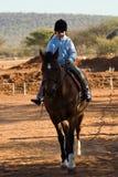 Girl rider Royalty Free Stock Photos