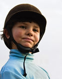 Girl rider Stock Photo