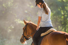 Free Girl Riding A Horse Royalty Free Stock Images - 73687989