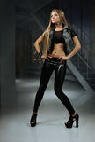 Girl rock star Stock Images