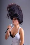 Girl Rocker Stock Photos
