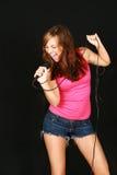 Girl rocker Royalty Free Stock Images
