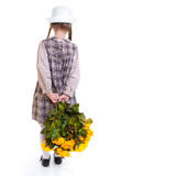 Girl with rosses Stock Photo