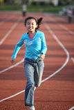 Girl running Royalty Free Stock Photos