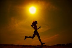 Free Girl Running Stock Photography - 2700242