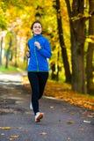 Girl running Stock Image