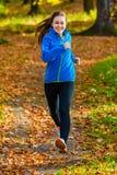 Girl running Royalty Free Stock Photos