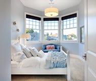 Girl's Bedroom in New home stock photo