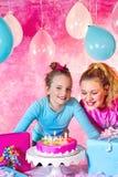 Girl's Birthday Party Stock Photos